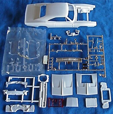1968 DODGE CHARGER COMPLETE BODY ASSEMBLY-REVELL 1:25 SCALE!!!!!!