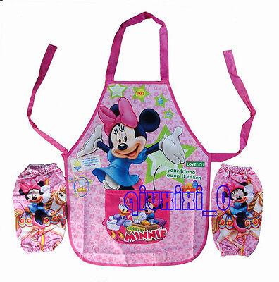 Фартуки Minnie Mouse Cartoon Childrens Girl