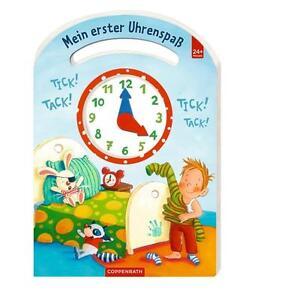 NEU Buch Uhr Tick! Tack! Mein erster Uhrenspaß Schneider Coppenrath Spiegelburg