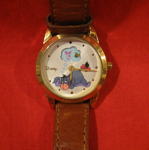 HTF DISNEY ANIMATED EEYORE DAY DREAMING WATCH WORKING New Battery