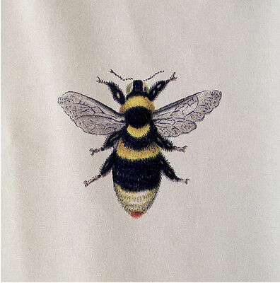 Bee Craft - Bee Cotton Fabric Panel Make A Cushion Upholstery Craft