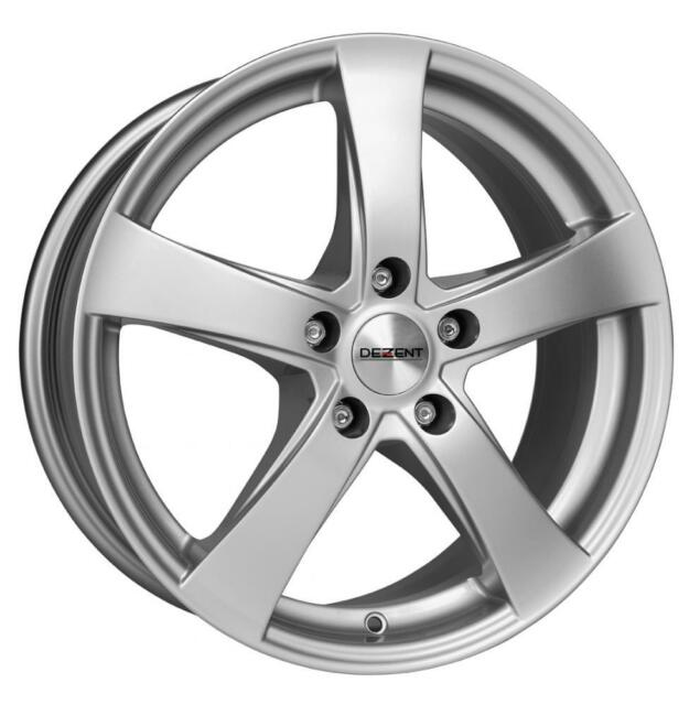 "16"" DEZENT RE SILVER ALLOY WHEELS ONLY BRAND NEW 5x120 RIMS"