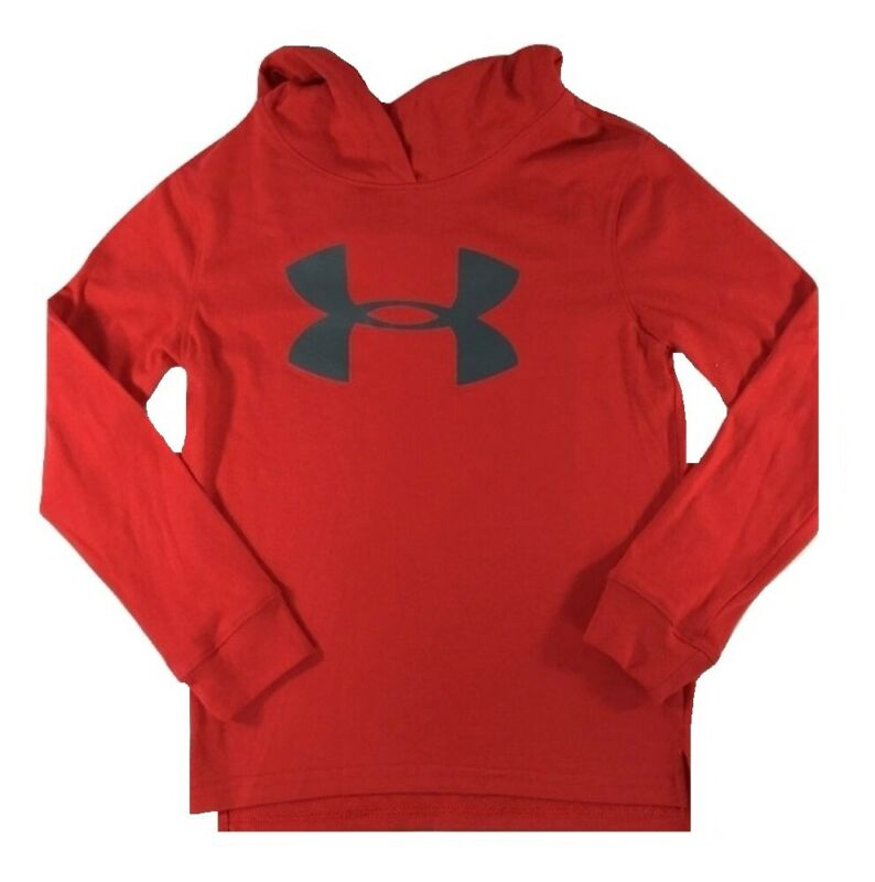 Under Armour Boys UA Logo Hoodie Red Size 4 27H54227-80