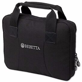Beretta Tactical Pistol Weapon Field Range Carry Case Black Padded FOG401