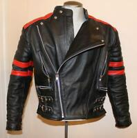 Genuine Leather Motorcycle Biker Men's Bomber Jacket, Armoured