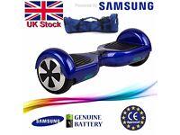 NEW ORIGINAL Blue Hoverboard SAMSUNG Powered Self Balancing Balance Scooter Segway 2 wheel board
