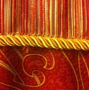 Classy Bacova Paisley Fabric Shower Curtain Rust Red Brown Gold Burgundy EBay