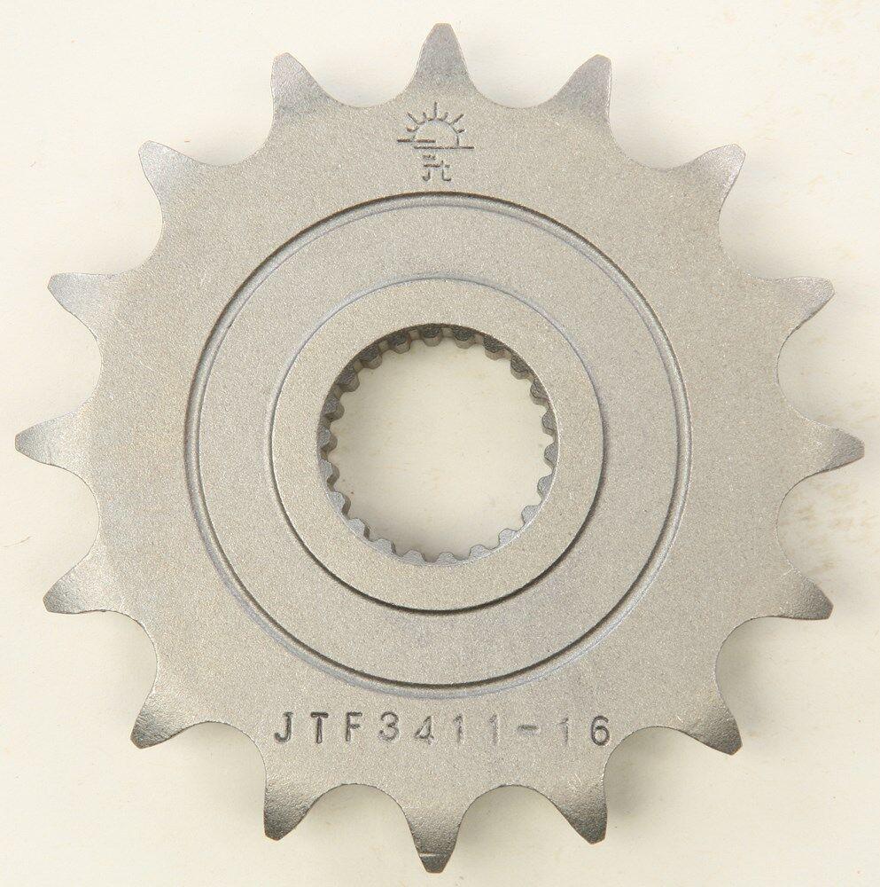 JT Sprockets - JTF3411.16 - Steel Front Sprocket, 16T