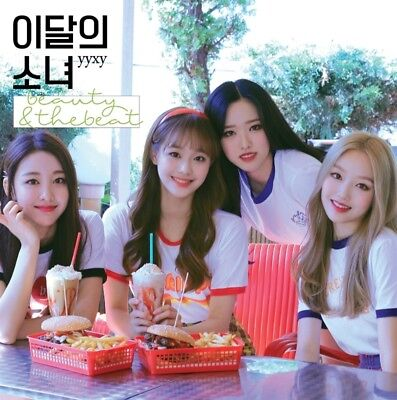 MONTHLY GIRL yyxy LOONA Album [beauty & thebeat] Normal CD+Photobook+Photocard