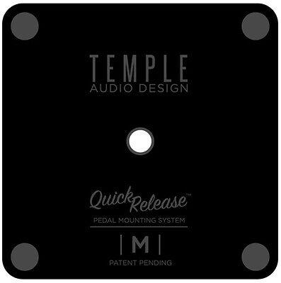 Temple Audio Design Quick Release Pedal Plate - Medium