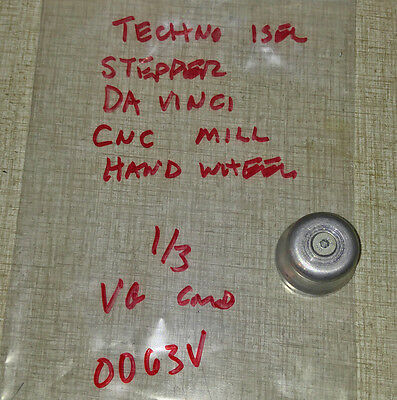 Techno Isel Stepper Davinci Cnc Mill Router Hand Wheel 0063v