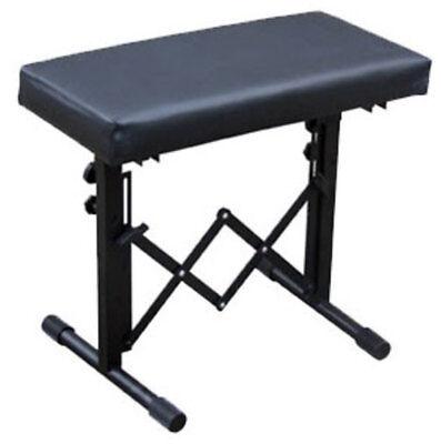 Resistente Ajustable Altura Acolchada Plegable Teclado / Piano Banco G001XQ
