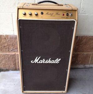 1970s fawn marshall bass amp ebay. Black Bedroom Furniture Sets. Home Design Ideas