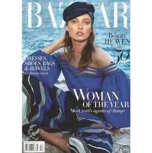 As new Bazaar Magazine, Nov 2016, Woman of the Year Waterloo Inner Sydney Preview