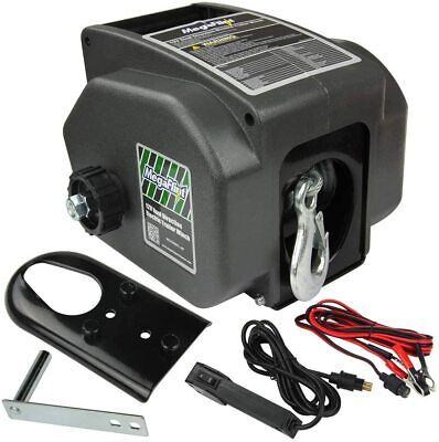 New 12V Boat Trailer Winch Reversible Electric Winch for Boats Car up to 6000lbs