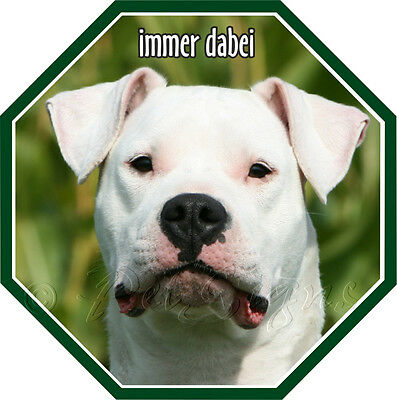 Details About Sticker Dogo Argentino From Quality Film Show Original Title