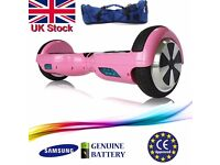 """BRAND NEW - Hoverboard *SAMSUNG Battery* Self Balancing Scooter 6.5"""" Black as swegway segway board -"""