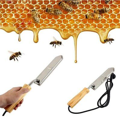 Electric Stainless Extractor Uncapping Hot Knife For Scraping Honey Beekeeping