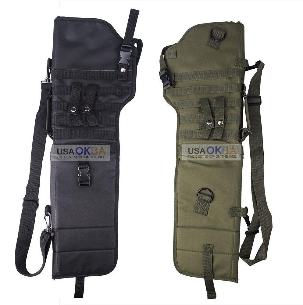 29'' Tactical Shotgun Scabbard MOLLE Shoulder Sling Carry Ca