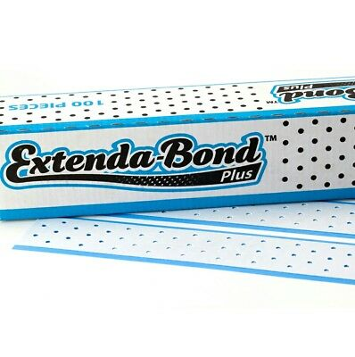 "Extenda Bond Plus 12.5"" Tape Extensions Wig Toupee Hair Replacement x 5 pieces"