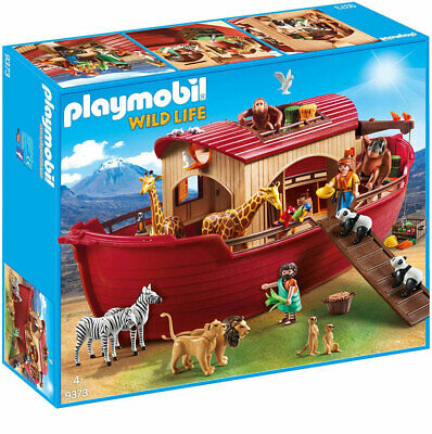 PLAYMOBIL Wildlife 9373 Noahs Ark Including Animals - Floats on Water