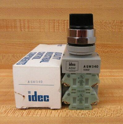 Idec Asw340 Selector Switch