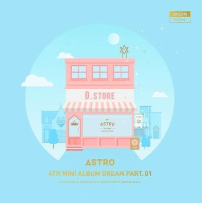 ASTRO 4th Mini Album [Dream Part. 01] DAY Ver. CD+Photobook+Postcard+Photocard