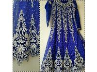 Wedding Eid party indian pakistani Asian wear anarkali churidar kameez dress
