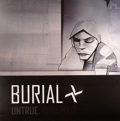 "Burial - Untrue - Hyperdub HDBLP002 2 x 12"" Vinyl"