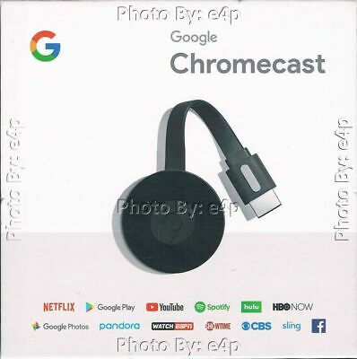 GOOGLE CHROMECAST 2 DIGITAL MEDIA STREAMER 1080P FHD NEW FACTORY SEALED RETAIL!!