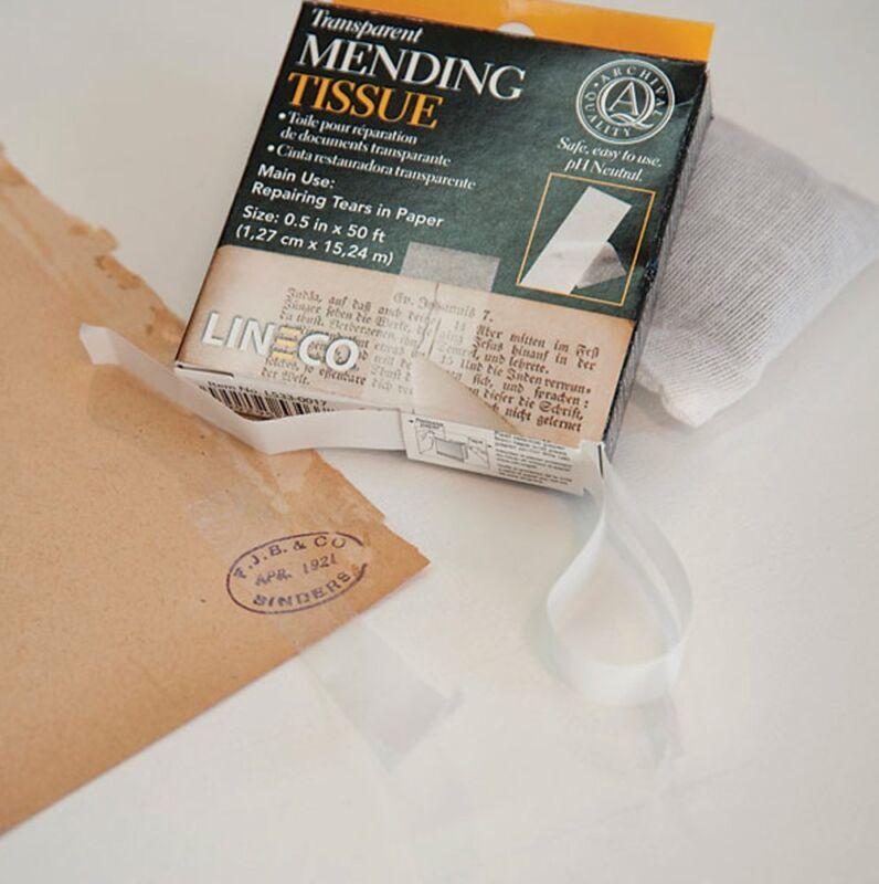 """Transparent Mending Tissue 1/2""""x600"""""""