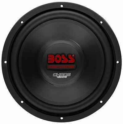 "Boss 12"" 1800W Car Subwoofer Audio DVC Power Sub Woofer 4 Ohm Stereo 