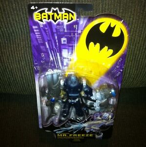 DC-Comics-Batman-ICE-CANNON-MR-FREEZE-Figure-Mattel-WB-2003