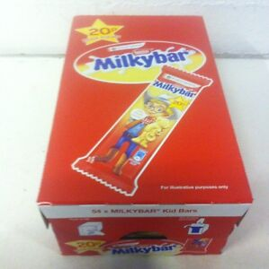 Milky Bar Kids Nestle - Full Box Of 54 Bars