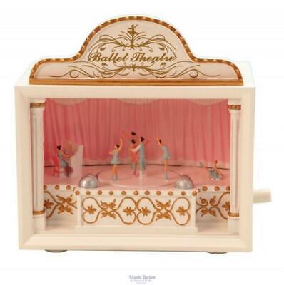 "Ballet Ballerina Musical Theatre Music Box Plays ""Swan Lake"" FREE Shipping"
