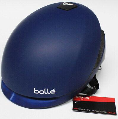 Bolle Erwachsene Fahrradhelm Messenger Standard Blau M 54-58 cm Radhelm