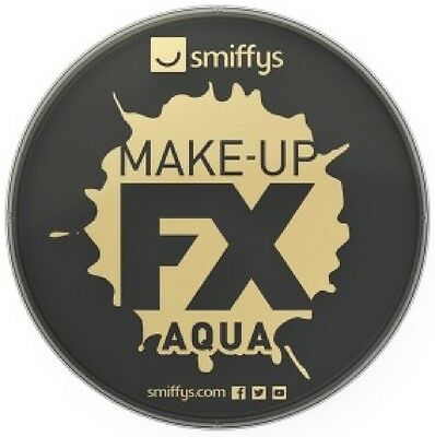 Ladies Mens Black Water Based Halloween Special FX Make Up Fancy Dress Costume - Water Based Halloween Makeup