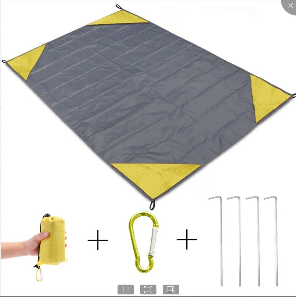 Portable Waterproof Picnic Mat Beach Blanket Camping Travel