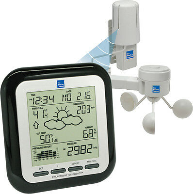 Ws 1910Twc It La Crosse Technology Twc Professional Weather Station With Wind