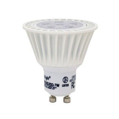 Mr16 Gu10 Led Light Bulb 7 Watt Equal 50w Dimmable 450 Lumen Warm White - 6 Pack
