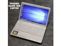 Toshiba C660D-1HK laptop REFURBISHED + ***3 MONTHS WARRANTY***