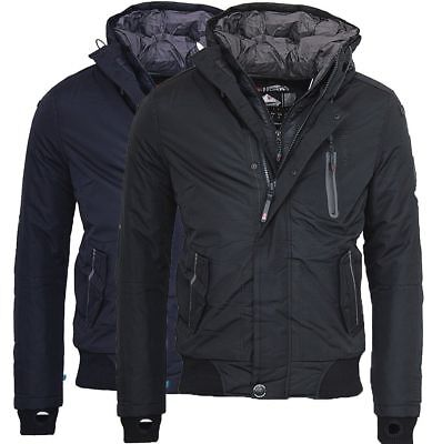 Geographical Norway Herren Winter Jacke warme bomber jacke outdoor Ballistique ()