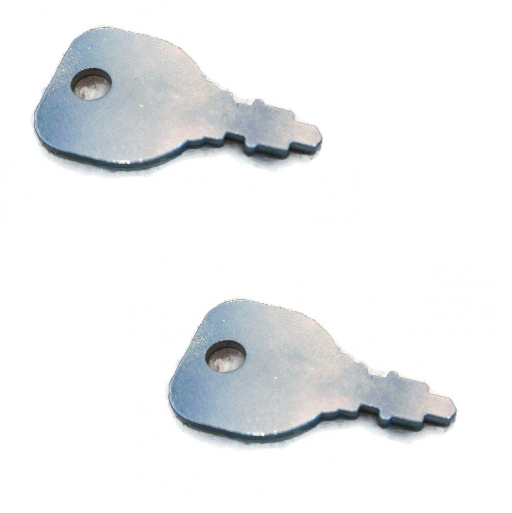 5 IGNITION SWITCH KEYS for John Deere M40718 Kohler 48 340 01-S Indak Mowers