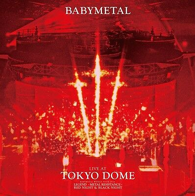 BABYMETAL LIVE AT TOKYO DOME limited Edition 2 Blu-ray TFXQ-78149 New from Japan