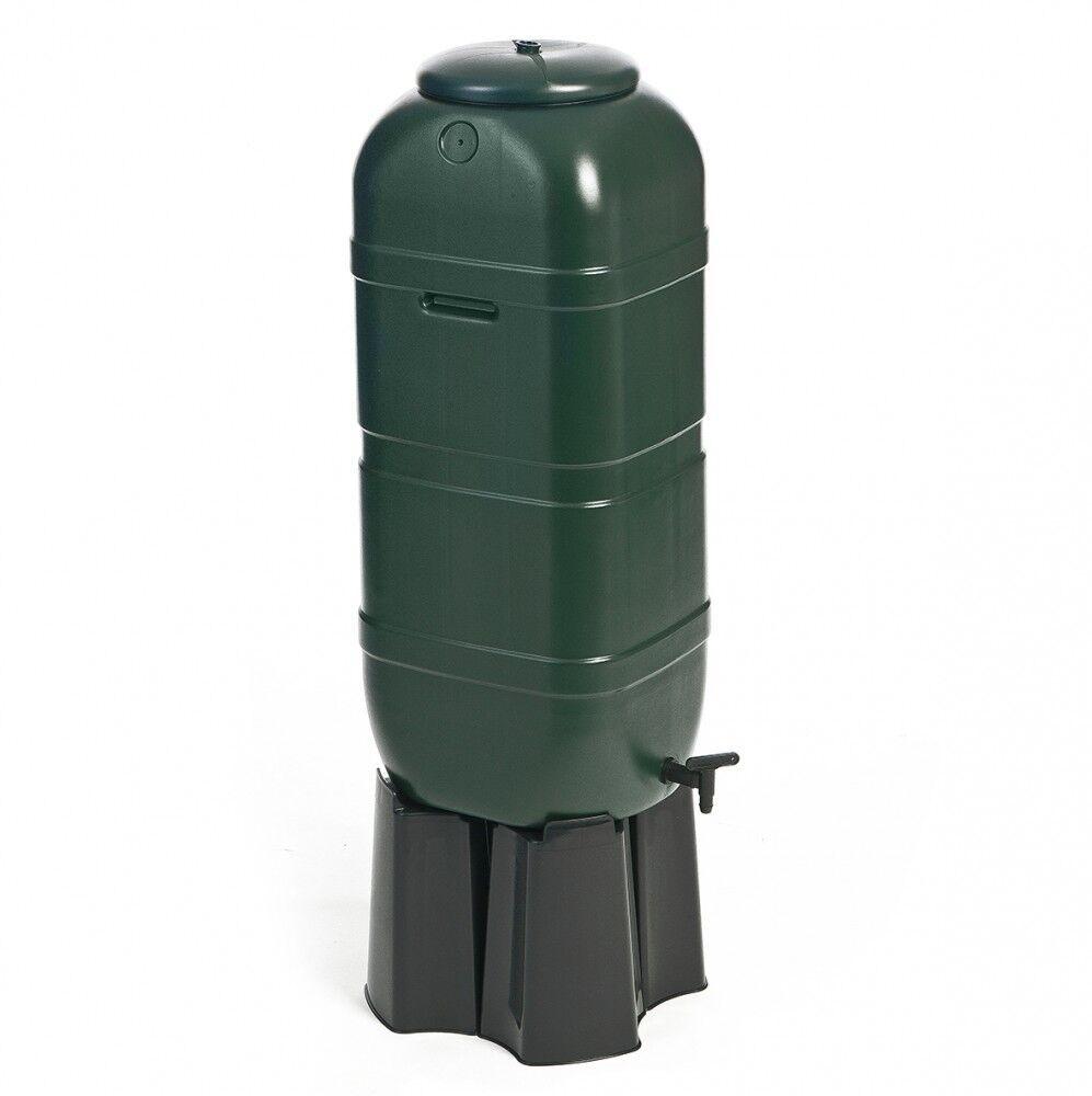 Regentonne Wassertonne Regenfass Wasserfass mit Stand Zubehör Füller 100 Liter