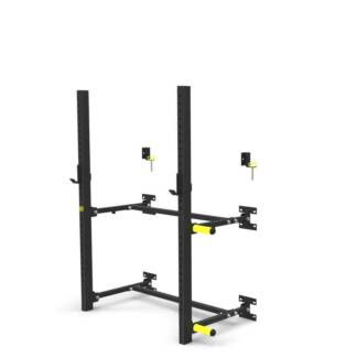 ARMORTECH WALL MOUNTED SQUAT RACK *FOLDABLE* *CONVENIENT*