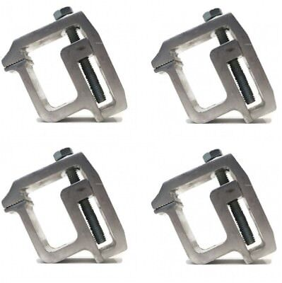 Used, (4) TRUCK CAP MOUNTING CLAMP Heavy Duty Topper Camper Shell for Tite-Lok TL2002 for sale  Bluffton