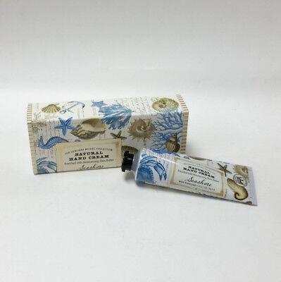Deborah Michel Collection Natural Hand Cream Shea Butter 2.1 oz Seashore Scent