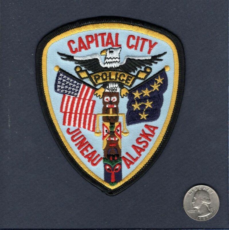 CAPITAL CITY ALASKA POLICE DEPARTMENT Uniform Jacket Patch 2