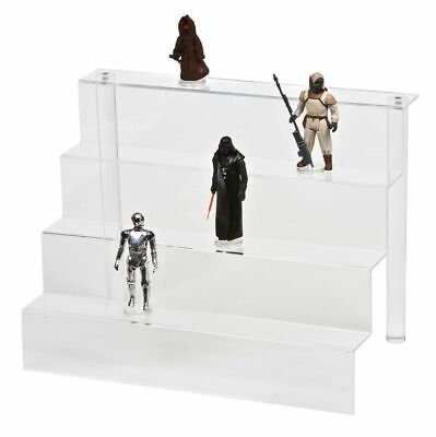 GW Acrylic - 4 Tier Detolf Display Steps / Riser (ADS-002) - Star Wars / GI Joe